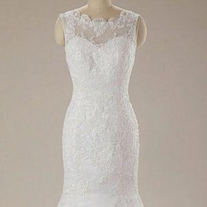 👰👗Lace Trumpet/Mermaid Wedding Dress